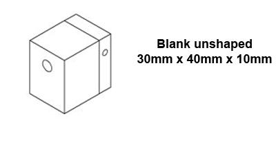 Welding Shoe blank 30x40x10 for Mini