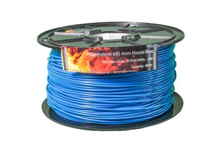 400m RPEMD4RBL PEMD 4mm Round Blue