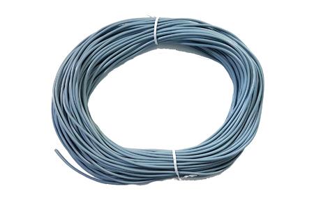 50m RPVC4RGS PVC 4mm Round Grey Soft